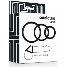 ADDICTED TOYS SET ANILLOS PENE