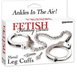 FETISH METAL LEGS CUFFS...