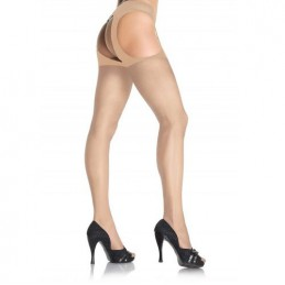 LEG AVENUE SHEER SUSPENDER...