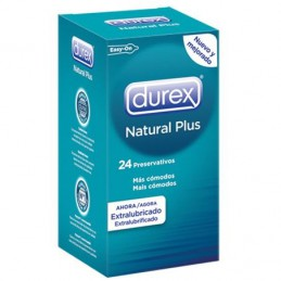 DUREX NATURAL PLUS EXTRA...