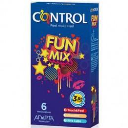CONTROL FUN MIX CONDOM 6 UNITS