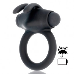 BLACK&SILVER COCK RING...