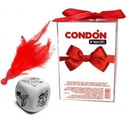 SET GIFT - DADO+PLUMA+CONDÓN