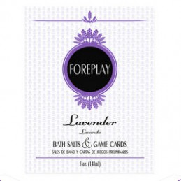 FOREPLAY- BATH SALTS&GAME...