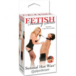 FETISH SENSUAL HOT WAX