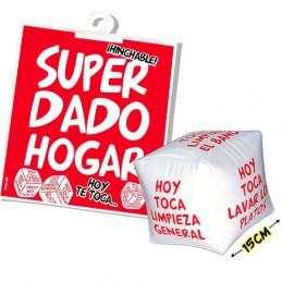 SUPER DADO HOGAR HINCHABLE
