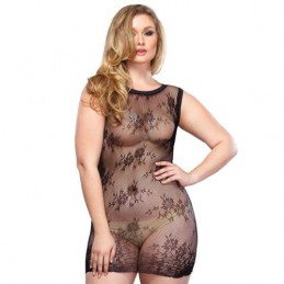 LEG AVENUE FLORAL LACE MINI...