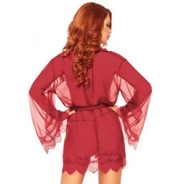LEG AVENUE SHEER ROBE...