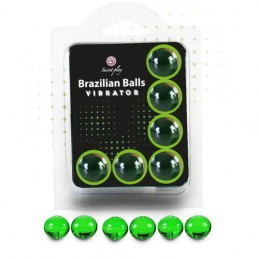 SET 6 BRAZILIAN BALLS BOLAS...