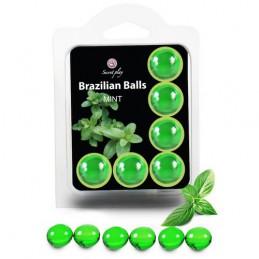 SET 6 BRAZILIAN BALLS MINT...
